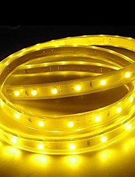 cheap -3M 220V  Higt Bright LED Light Strip Flexible 5050 180SMD Three Crystal Waterproof Light Bar Garden Lights with EU Power Plug