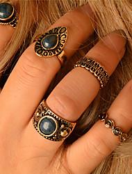 Недорогие -Жен. Кольцо На заказ Мода Euramerican Повседневные Прочее кольца