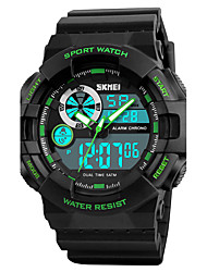 SKMEI Men's Sport Watch Military Watch Wrist watch Japanese Digital LED Calendar Chronograph Water Resistant / Water Proof Dual Time