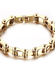 cheap -Men's Chain Bracelet Rock Punk Titanium Steel Line Jewelry Party Gift Costume Jewelry