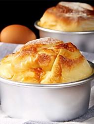 Anodized Aluminum Alloy Round Cheesecake Mold Chiffon Cake Pan Molds 4 Inch