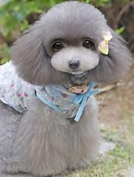 Cachorro Vestidos Roupas para Cães Casual Floral/Botânico Arco-Íris Ocasiões Especiais Para animais de estimação