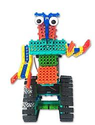 Недорогие -Робот Игрушки Робот Простой Пульт управления Образование Электрический Своими руками Мягкие пластиковые Детские Подарок 1pcs
