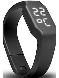 Недорогие -Муж. Жен. Уникальный творческий часы электронные часы Спортивные часы Армейские часы Нарядные часы Смарт Часы Модные часы Наручные часы