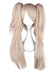 cheap -Cosplay Wigs Dangan Ronpa Junko Enoshima Pink Medium Anime/ Video Games Cosplay Wigs 65 CM Heat Resistant Fiber Female