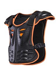 abordables -HEROBIKER MC1006OR Veste Équipement de protection moto Unisexe Adolescent Polyester Nylon
