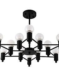 billige -Moderne / Nutidig Lysestager Til Stue Indendørs Spisestue 110V-220V 220V-240VV Pære Inkluderet
