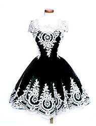 Vestito da Serata Elegante Stile Carnevale di Venezia Gotico Dolce Punk Steampunk® Ispirazione Vintage Elegant Con lacci Vittoriano