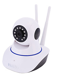 VESKYS® 720P 1.0M HD Wifi Security Surveillance IP Camera with Cloud Storage/Two Way Audio/Remote Monitor/Night Vision