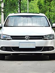 abordables -Automotor Parasoles y visores para coche Viseras del coche Para Volkswagen 2011 2012 2013 2014 2015 2016 2017 Passat Aluminio