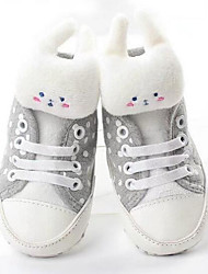 Baby Shoes Cotton Fall Winter Comfort First Walkers Sneakers For Casual Dark Blue White