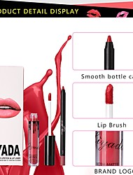 cheap -Lip Gloss Lip Liners Lipstick Lip Balm Wet Matte Mineral Waterproof