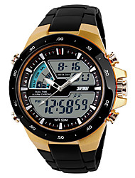 cheap -SKMEI Men's Digital Digital Watch Sport Watch Casual Watch Plastic Band Casual Cool Black