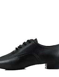 economico -Per bambini Scarpe da ballo bambino Finta pelle Per interni Basso Nero