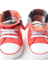 cheap -Baby Shoes Cotton Fall Winter Comfort First Walkers Flats For Casual Peach