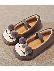 economico -Da ragazza Scarpe Pelle nubuck Autunno Inverno Comoda Scarpe da cerimonia per bambine Sneakers Per Casual Nero Grigio Rosa