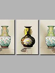 preiswerte -Porzellan 3-teilig moderne Kunstwerk Wandkunst für Raumdekoration 20x28inchx3