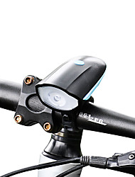 cheap -Front Bike Light LED Cree XP-G R5 Cycling USB Lithium Battery 250 Lumens Built-in Li-Battery White Camping/Hiking/Caving Everyday Use