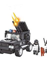 cheap -AUSINI Building Blocks / Model Building Kit 261pcs Fashion Vehicles / Military Military Vehicle / Tank Boys' Gift