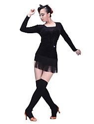 Latin Dance Stockings Women's Training Sweater Socks