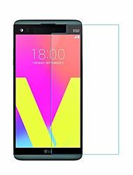 お買い得  -スクリーンプロテクター のために LG LG V20 強化ガラス 1枚 スクリーンプロテクター ハイディフィニション(HD) / 硬度9H / 2.5Dラウンドカットエッジ