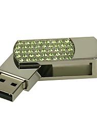 Недорогие -4g u диск кристалл ручка привода ручка привода ювелирные изделия usb флеш-накопитель usb 2.0 рождественский подарок