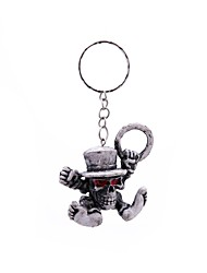 cheap -Keychain Jewelry Gray Rubber Alloy Simple Vintage Adults'