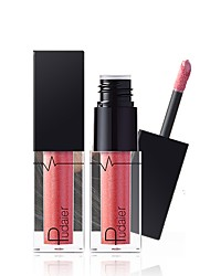 cheap -1pc 24 Colors Lip Gloss Wet Lighting Long-lasting Deep Moisten Cosmetic Makeup for  Face Makeup