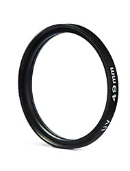 49mm camera UV bescherming filterlens voor Canon Nikon Sony - zwart