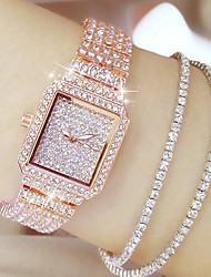 cheap -Women's Quartz Japanese Casual Watch Stainless Steel Band Charm / Fashion Silver / Gold / Rose Gold