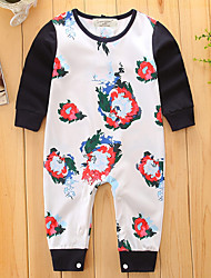 Baby Child Print Fashion One-Pieces,Cotton Spring/Fall Summer Teddies One Piece Pants Basic Trousers Leisure Dresswear Furcal New Arrival
