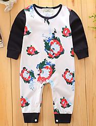 abordables -bébé Une-Pièce Enfant Mode Coton Printemps/Automne Eté Manches Longues Body One Piece Pantalons Basique Ouvert Haute qualité Nouvelle