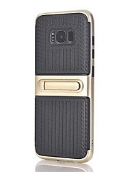 cheap -Case For Samsung Galaxy Note 8 with Stand Back Cover Lines / Waves Hard PC for Note 8