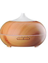 economico -aromaterapia olio essenziale diffusore legno grano ultrasonico freddo nebbia whisper-tranquillo umidificatore con colore led luci