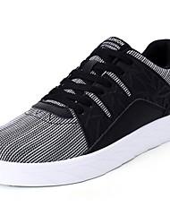 economico -Da uomo Scarpe Tulle Primavera Autunno Comoda Sneakers Per Casual Nero White/Blue