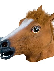 cheap -BoJack Horseman Halloween Props Unisex Halloween Day of the Dead Festival / Holiday Halloween Costumes Brown Solid Color
