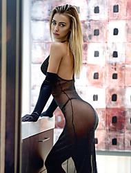 economico -Per donna Camicie da notte e vestitini Sensuale Indumenti da notte Poliestere-Sexy Solidi