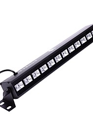 cheap -U'King ZQ-B199B-YK 36W 12 LEDs UV Blacklight Wall Wash Light Stage Effect Lighting with Remote Control