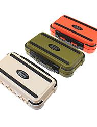 Недорогие -Коробки для рыболовных снастей Коробка для рыболовной снасти Водонепроницаемый пластик 16.5*8,5 см*5