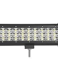 baratos -4pcs 81w 8100lm 6000k 3 linhas conduzidas luz de trabalho leve luz livre de estrada offroad para carro / barco / farol ip68 9-32v dc