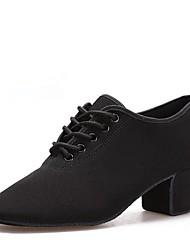 """cheap -Women's Modern Oxford Heel Indoor Cuban Heel Black 2"""" - 2 3/4"""""""