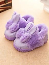 Da ragazzo Scarpe Felpato Inverno Fodera di pelliccia Pantofole e infradito Per Casual Nero Viola Rosa