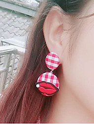 cheap -Women's Drop Earrings Fashion Cloth Alloy Round Jewelry For Casual