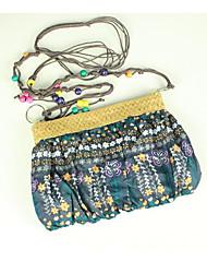 cheap -Women Bags Polyester Crossbody Bag Zipper for Casual Summer Blue Gray Light Green