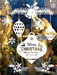 Christmas Cartoon Words & Quotes Wall Stickers Plane Wall Stickers Decorative Wall Stickers,Vinyl Material Home Decoration Wall Decal
