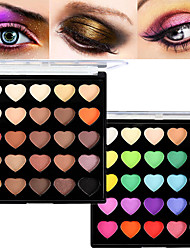 cheap -Pro 25 Color Matte&Shimmer Waterproof Eyeshadow Powder Kit Earth Tone Smoky Eye Shadow Makeup Cosmetic Palette
