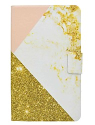 marmor mønster kortholder med stativ flip magnetisk pu læder taske til Samsung Galaxy Tab 4 t330 t331 8,0 tommer tablet pc
