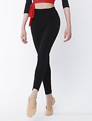 cheap -Latin Dance Bottoms Women's Performance Cotton Lycra Natural Pants