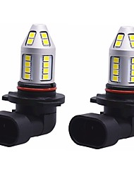 2pcs oem ultra branco luminoso lightness 150w 9005 hb3 levou névoa bulbo 9005 can-bus erro livre led bulbo para vw toyota ford honda fiat