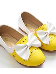 economico -Da ragazza Scarpe PU (Poliuretano) Primavera Autunno Comoda Scarpe da cerimonia per bambine Mocassini e Slip-Ons Per Casual Giallo Blu